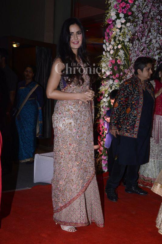 Salman's ex-girlfriend Katrina Kaif looked gorgeous as ever.