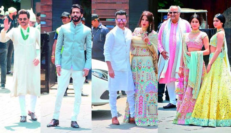 Members of the Kapoor family