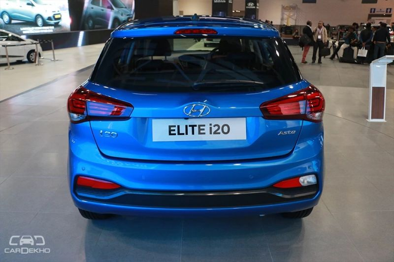 Where The New Elite I20 Has Changed Most Is At Rear It Gets