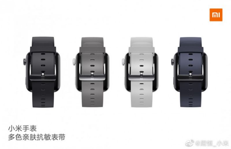 Mi Watch strap colours