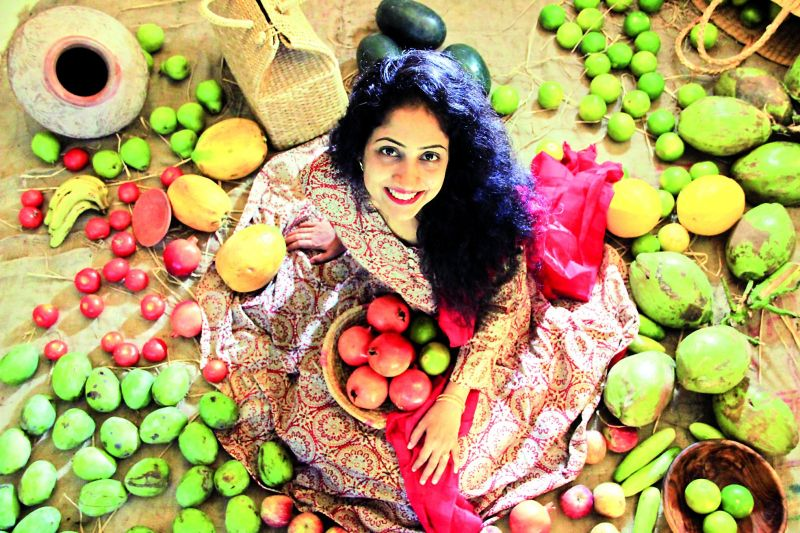 Rupinder Kaur, who has penned books on raw food, has been a rawtarian for almost a decade now