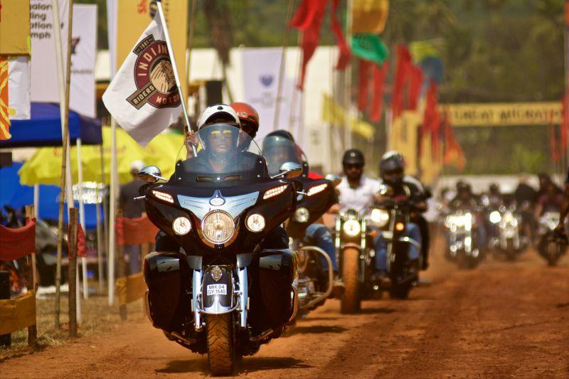 Bikers at IBW (Photo: (c) India Bike Week)