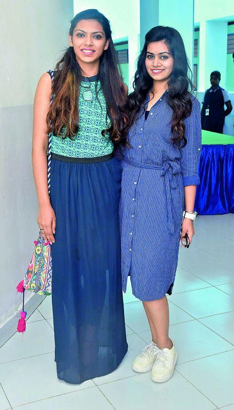 Anshika and Rishma