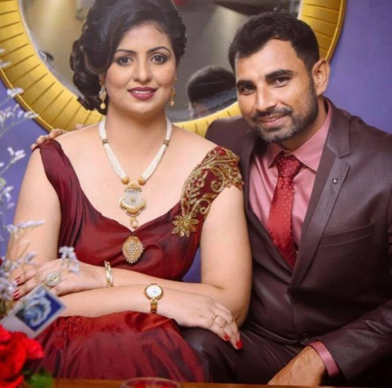 Mohammed Shami posted a picture with his wife Hasin Jahan on Facebook. (Photo: Mohammed Shami Facebook)