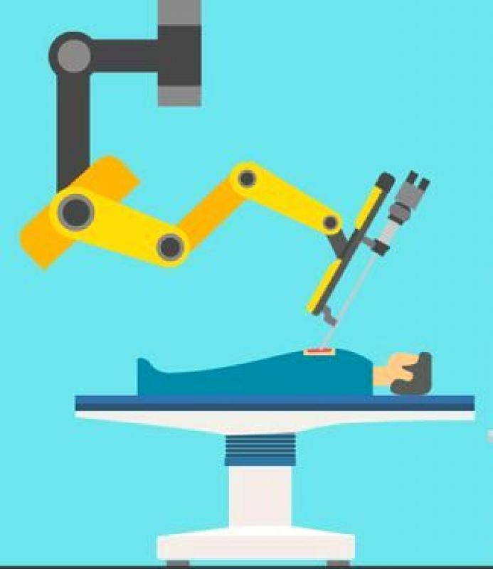 Patients are scared as they think a robot is going to perform the operation. That's not the case. A surgeon performs the operation with the help of robotic arms and a camera that give her greater control and precision.
