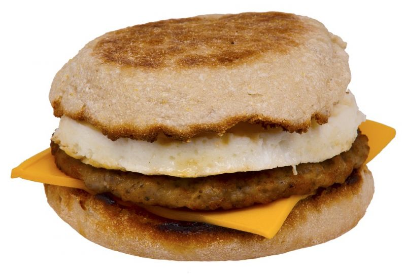 Egg with English Muffin (Photo: Pixabay)