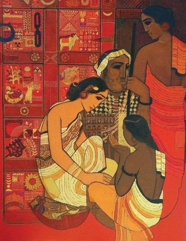 Siddhartha Shingade's  painting