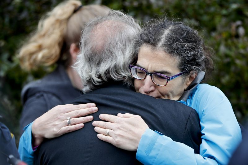 Brothers killed in synagogue shooting were 'inseparable'