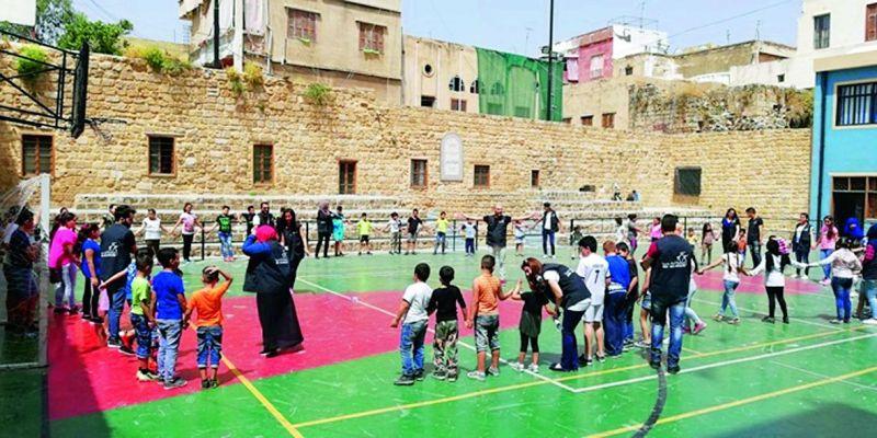 The popular Lebanese NGO Abnaa Saida El Balad that addresses gender stereotypes through its various classes.