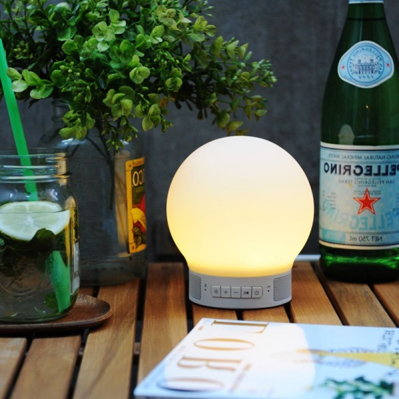 Smart touch Lamp with Bluetooth speaker
