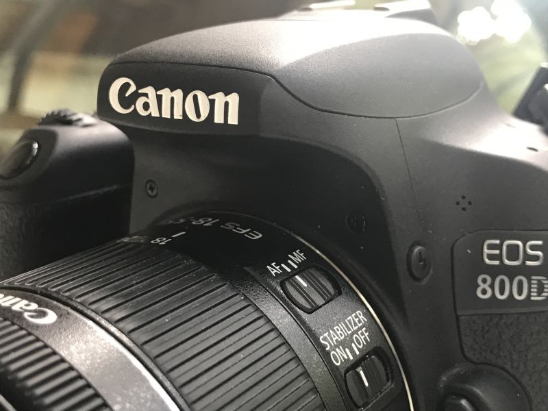Canon EOS 800D: An all-rounder for a beginner's upgrade