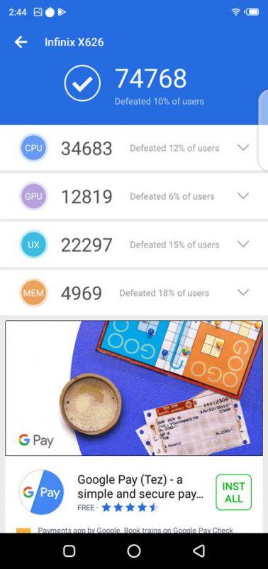 Infinix S4 2.0