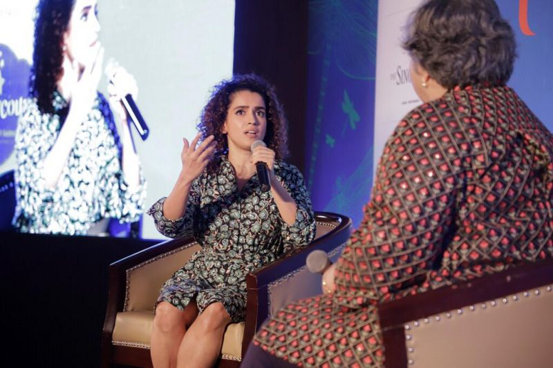 Sanya Malhotra at the event.