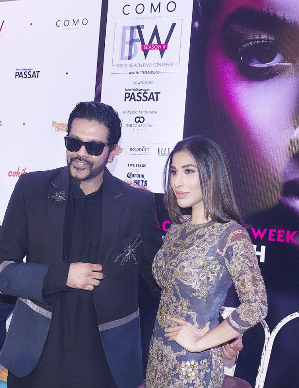 RockyS with his muse Sophie Choudry