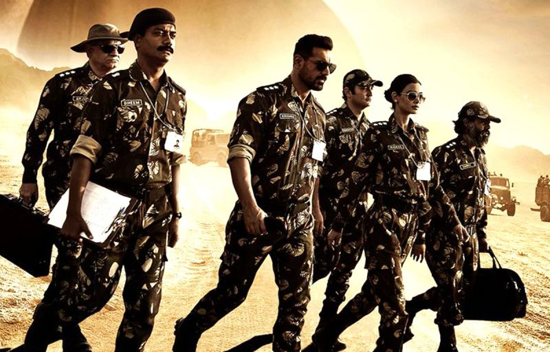 The poster of 'Parmanu: The Story of Pokhran'.