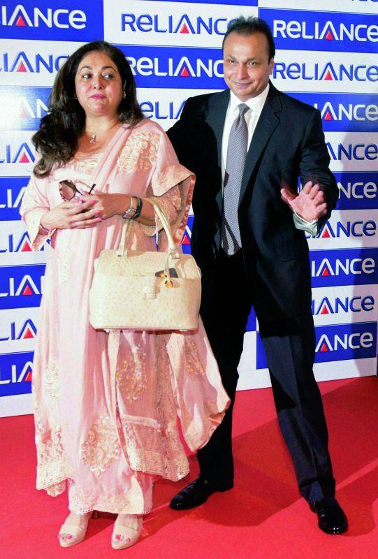 Anil Ambani and Tina Ambani