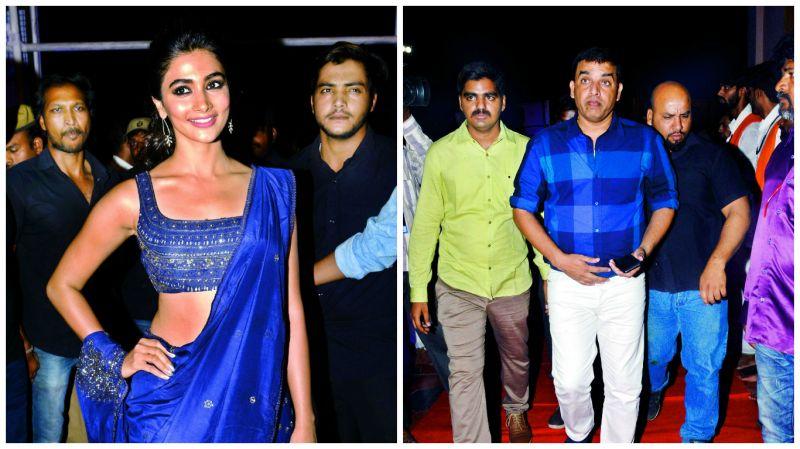 Pooja Hegde and  Dil Raju