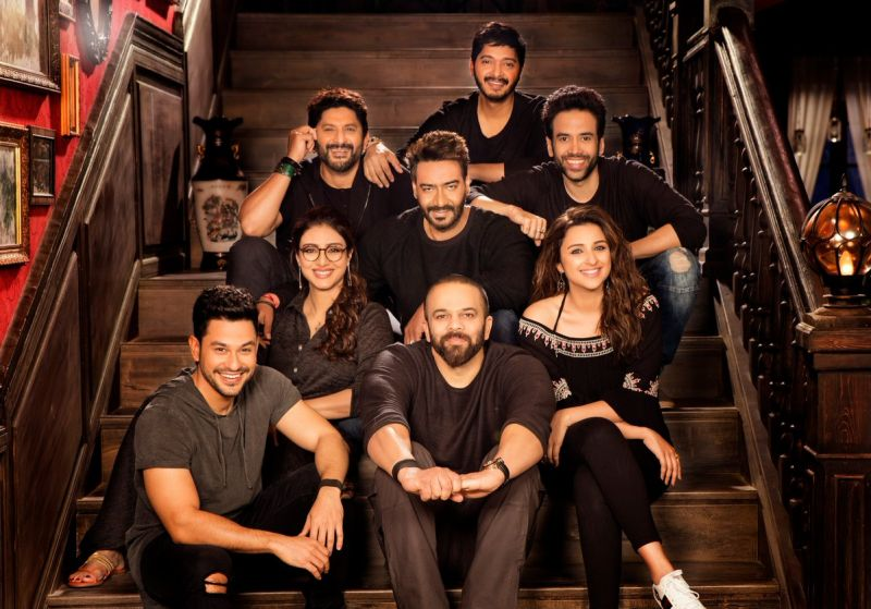 Cast of Golmaal Again dazzle in black as they come together for first time