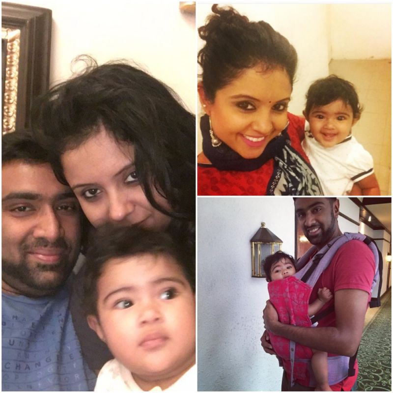 R Ashwin And His Wife R Ashwin turns father ...