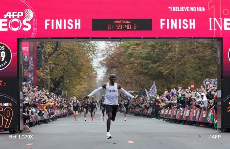 Eliud Kipchoge (Photo: AFP)