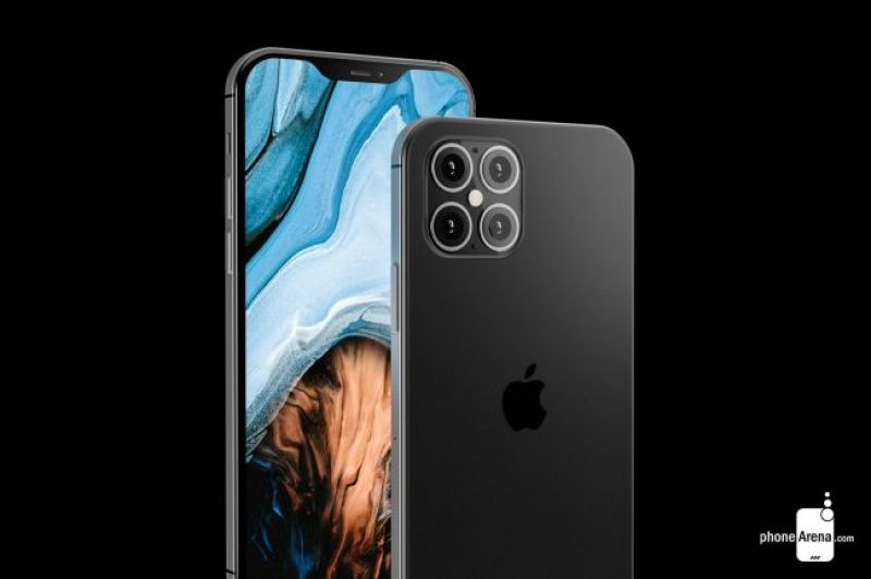 iPhone 12 renders PhoneArena