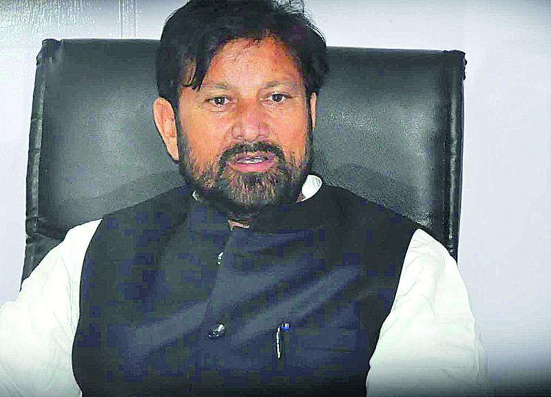 Senior BJP leader and former minister Lal Singh