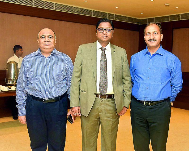 Ravi Gupta, Suresh Kumar and Chiranjeevi Chowdary