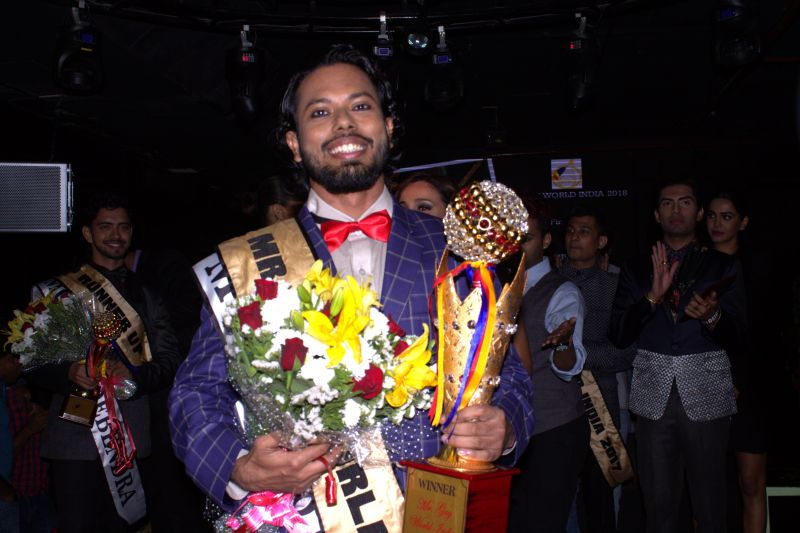 Mr Gay World India 2018 Samarpan Maiti