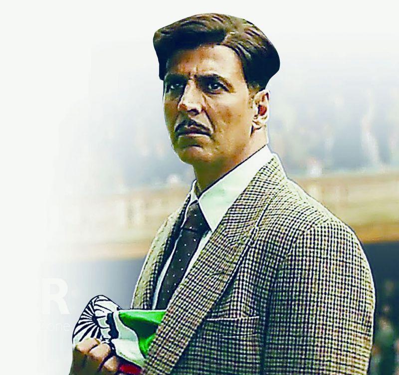Akshay Kumar has gone retro for Gold.