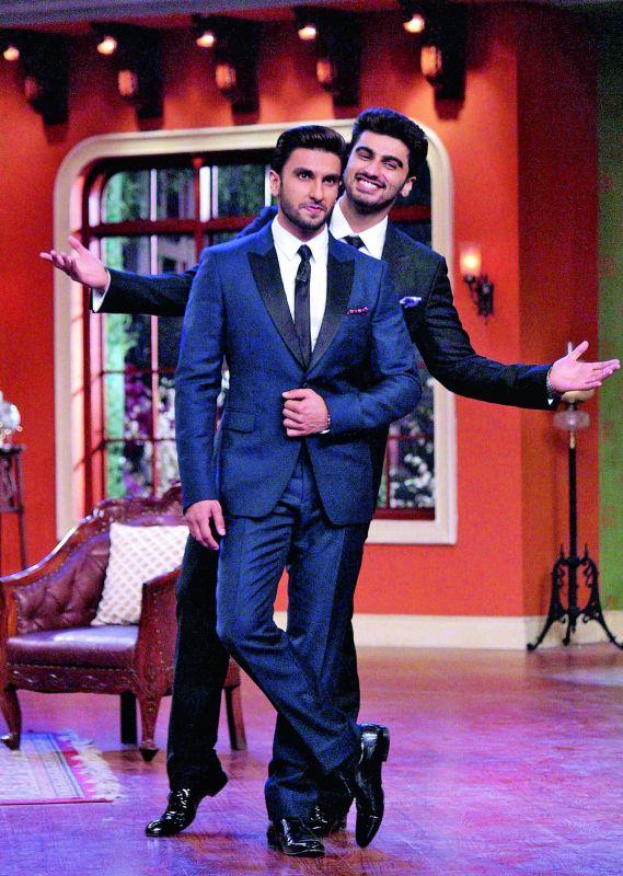 Ranveer Singh and Arjun Kapoor.