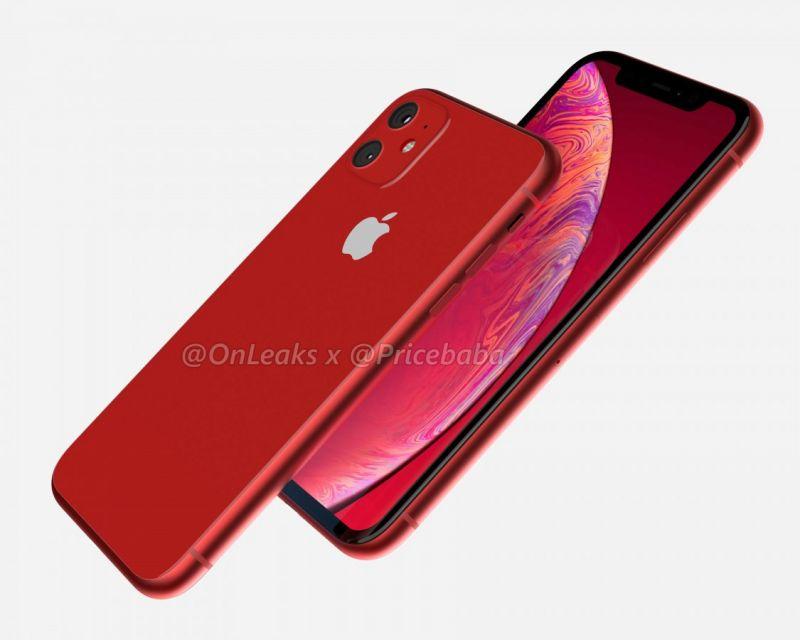 iPhone 11R 2019 renders