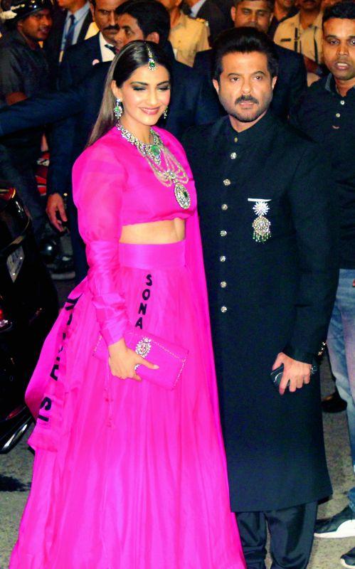 Sonam Kapoor Ahuja and Anil Kapoor
