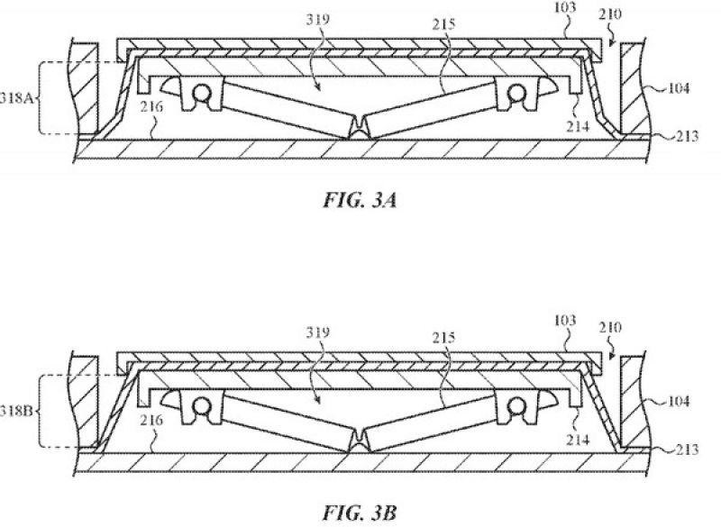 Apple patent keyboard