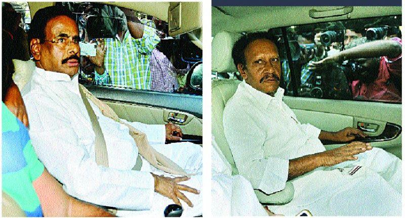Sasikala's estranged husband M. Nataraj reaches Parappana Agrahara. He was followed by Lok Sabha Deputy Speaker Thambidurai.