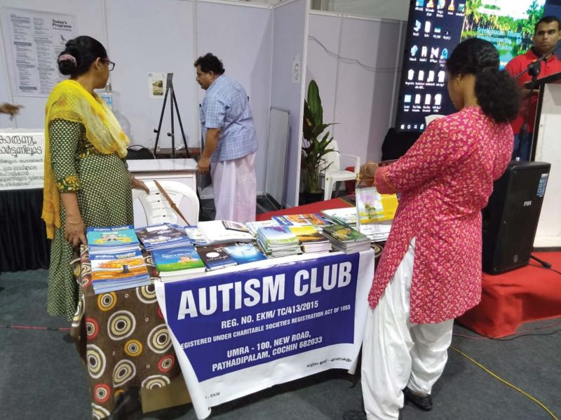 Sale of books as part of Spectrum Spectacle