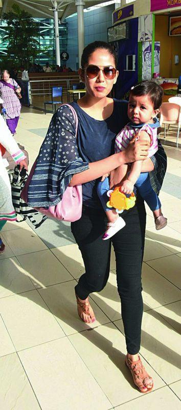 Mira Rajput with Misha