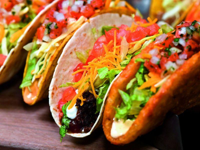 Paneer tacos