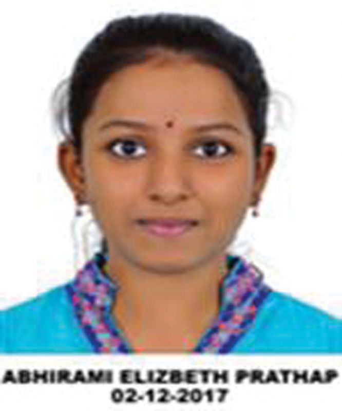 Abhirami Elizabeth Prathap