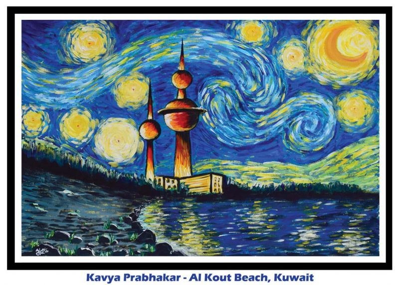 Kavya Prabakar- Al Kout beach, Kuwait