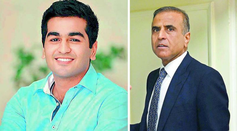 (Left) Kavin Bharti Mittal; (right) Sunil Bharti Mittal, Founder and Chairman of Bharti Enterprises.