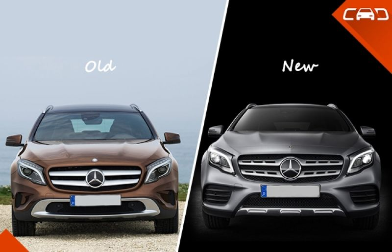 Mercedes-Benz GLA facelift: What's new?