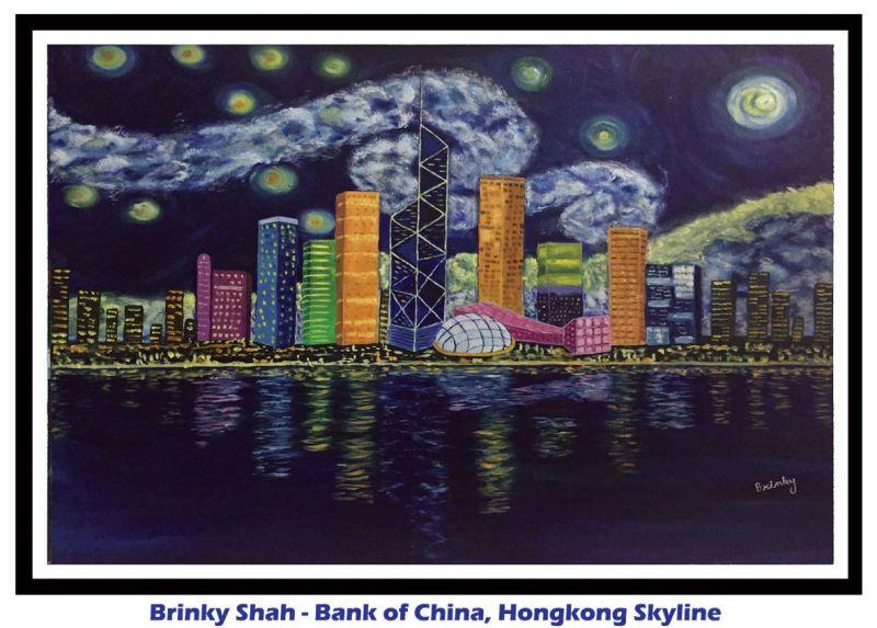 Brnky Shah- Hong Kong skyline