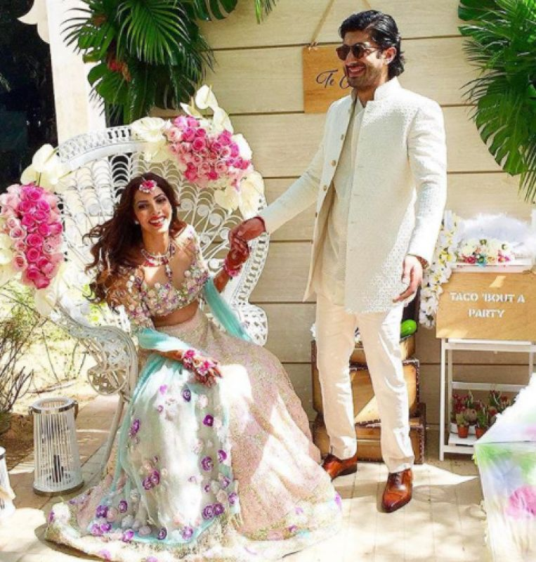 Mohit is getting married to his girlfriend Antara Motiwala on Tuesday. The actor was seen in films like 'Fugly' and 'Raag Desh.' Antara is niece of yesteryear actress Tina Ambani.