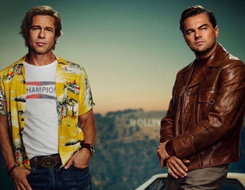 'Once Upon a Time In Hollywood' stars Leonardo DiCaprio and Brad Pitt.
