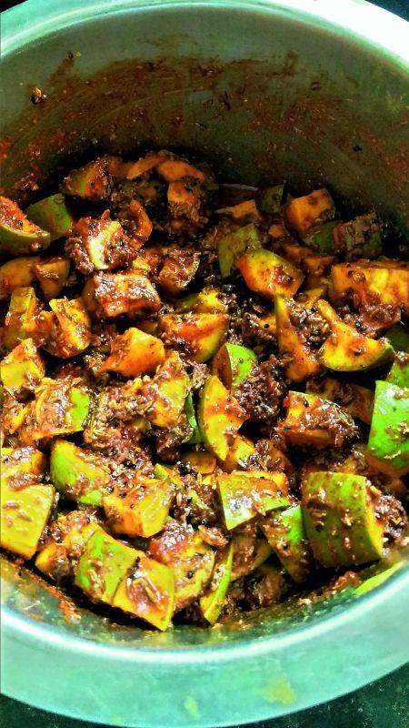 Punjabi Masala Mango Pickle