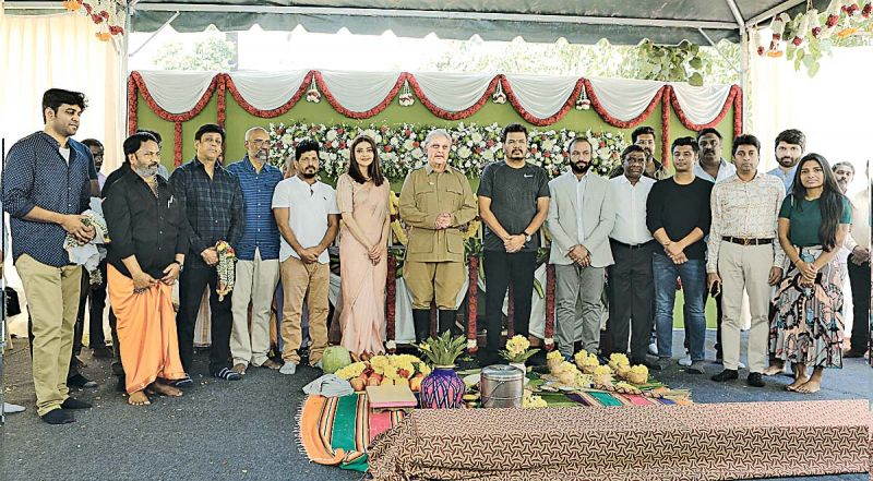 Indian 2 goes on floors