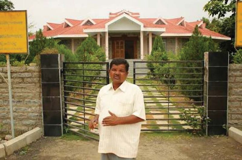 The watchman of Vijnaneshwara Bhavan and Research Centre