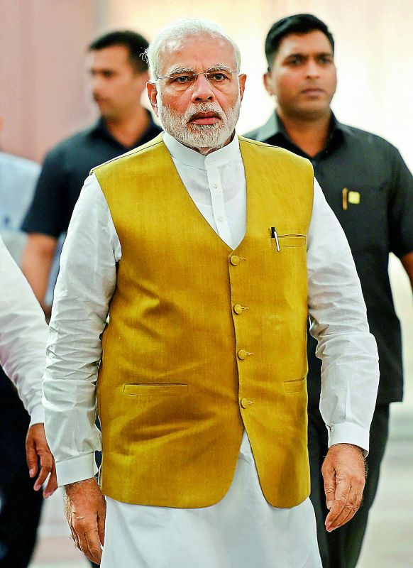 Prime Minister Narendra Modi, too, tweets to people personally at times.