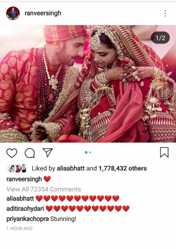 Deepveer wedding: Priyanka, Katrina pour wishes but ...