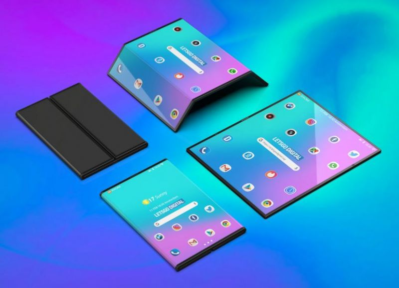 Xiaomi foldable phone concept